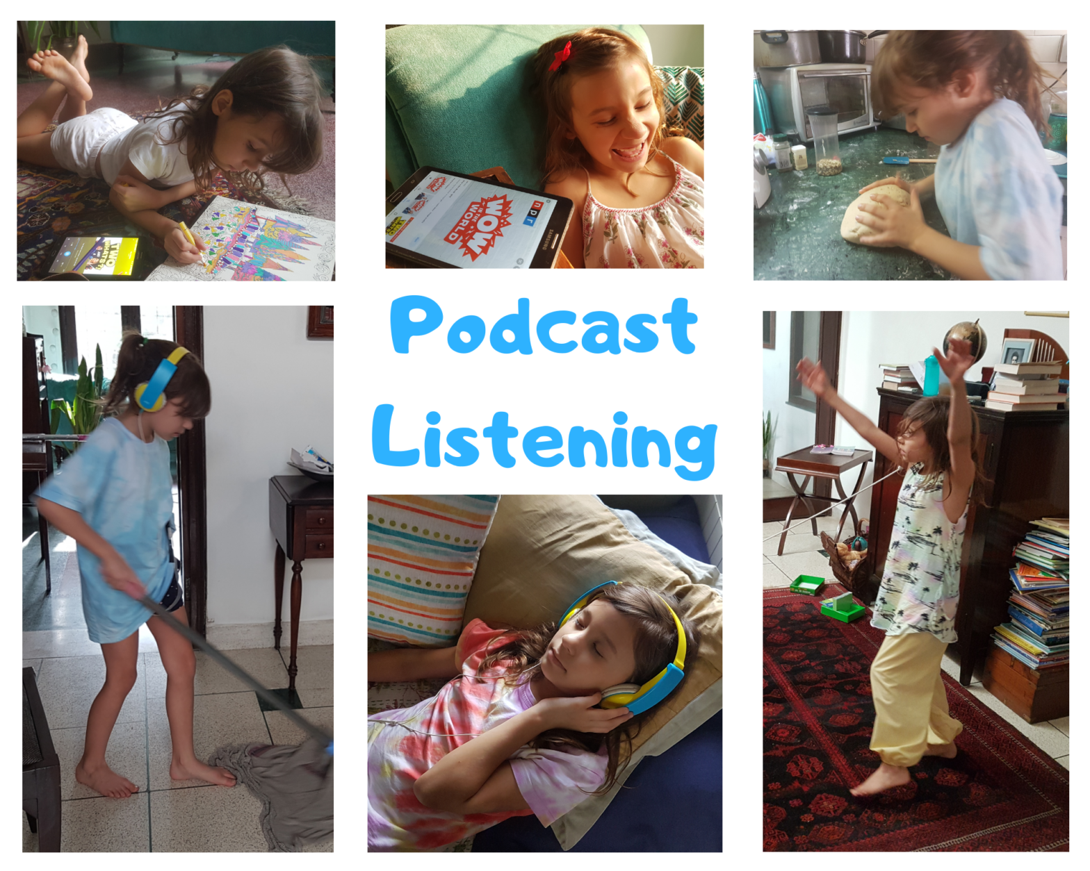 why follow podcasts for kids